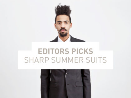 Sharp Summer Suits